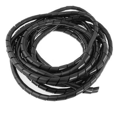 Espiral Para Cable Negro