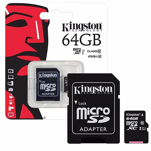 Memoria Micro SD 64Gb Kingston Image