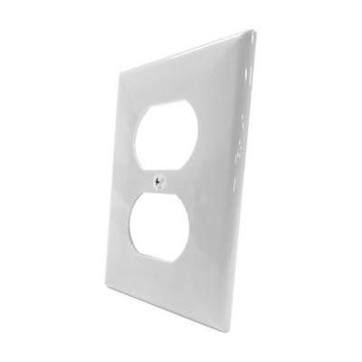Tapa Para Toma Doble de Incrustar Blanca Image